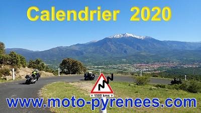 dates semaines moto 2020 Moto-Pyrénées