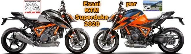 essai du roadster KTM Superduke version 2020