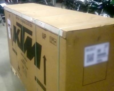 sortie de caisse de la nouvelle KTM Superduke 2020 V3