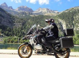 moto pyrénées route