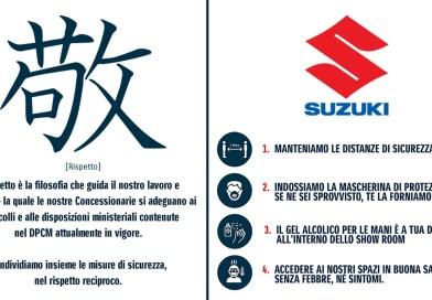 Suzuki: concessionari e officine operativi in tutta Italia