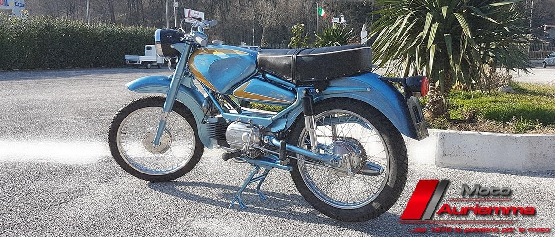 Restauro Moto Parilla Olimpia 125
