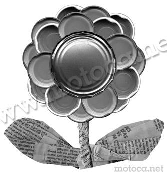 flor reciclagem