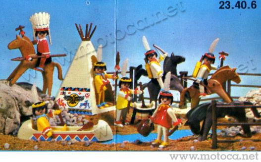Playmobil Velho Oeste - Índios