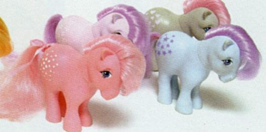 Cotton Candy, Lilac Blossom e Minty 1982