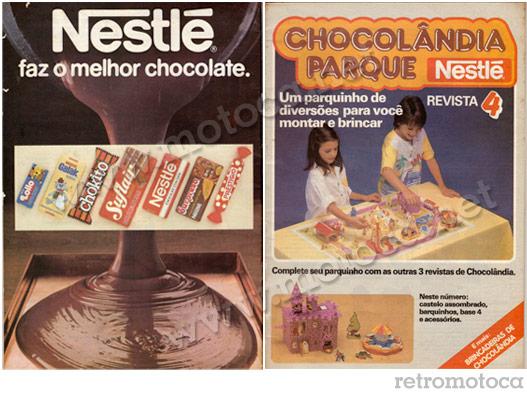 Capa Revista Chocolândia Nestlé