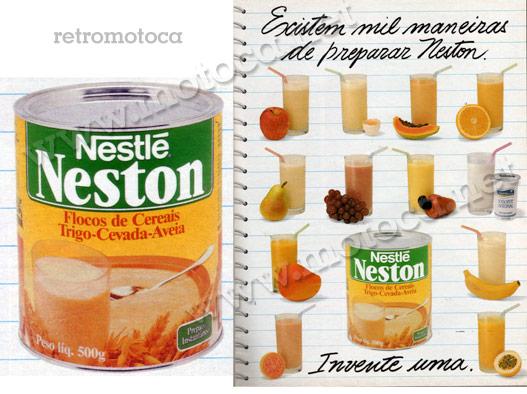 Anúncio Neston anos 90