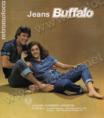 anúncio jeans buffalo 82