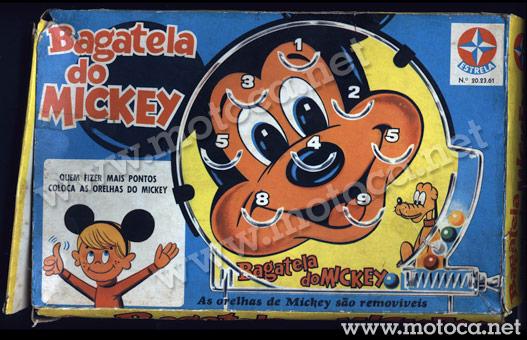 caixa bagatela mickey