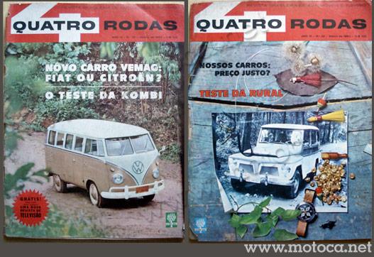revista 4 rodas 1963