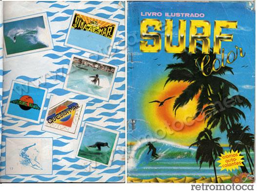 Capa e pg álbum Surf Color