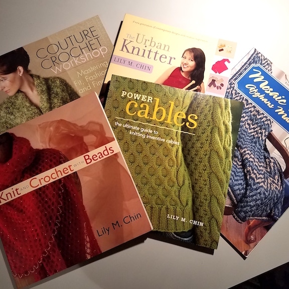 Lily Chin in Knitting & Crochet magazines