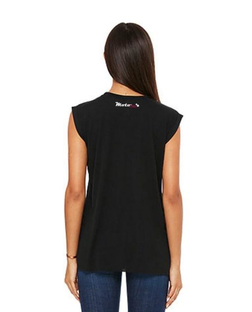 MotoAngels Muscle Tee Black back