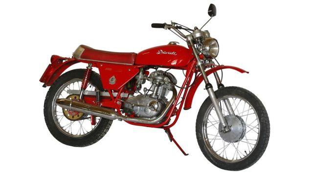 Ducati 125 Scrambler 1964