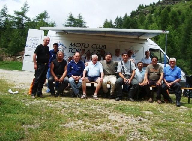 Giugno 2009 – il MOTO CLUB TORRAZZO sulle Dolomiti