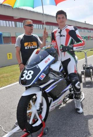 Kevin Polenghi, giovane promessa del MOTO CLUB TORRAZZO