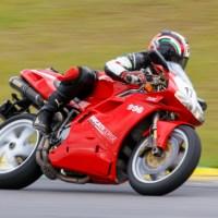 Primeira vez de moto em Interlagos