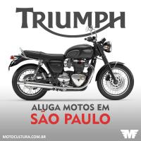 Aluguel de motocicletas Triumph em São Paulo