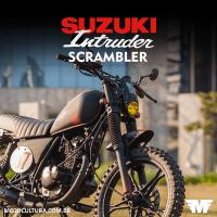 Suzuki Intruder 125 Scrambler