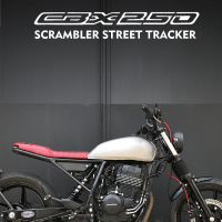 Honda CBX250 Scrambler Street Tracker Studio 58 Cycles