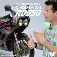 Edinei Cantieri, o mecânico das Yamaha RD 350 / Edinei Cantieri, the Yamaha RD 350 mechanic