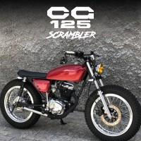 Customizada: Honda CG 125 1982 Scrambler