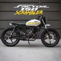 Moto customizada Yamaha Factor 150 Scrambler Benta Handmade