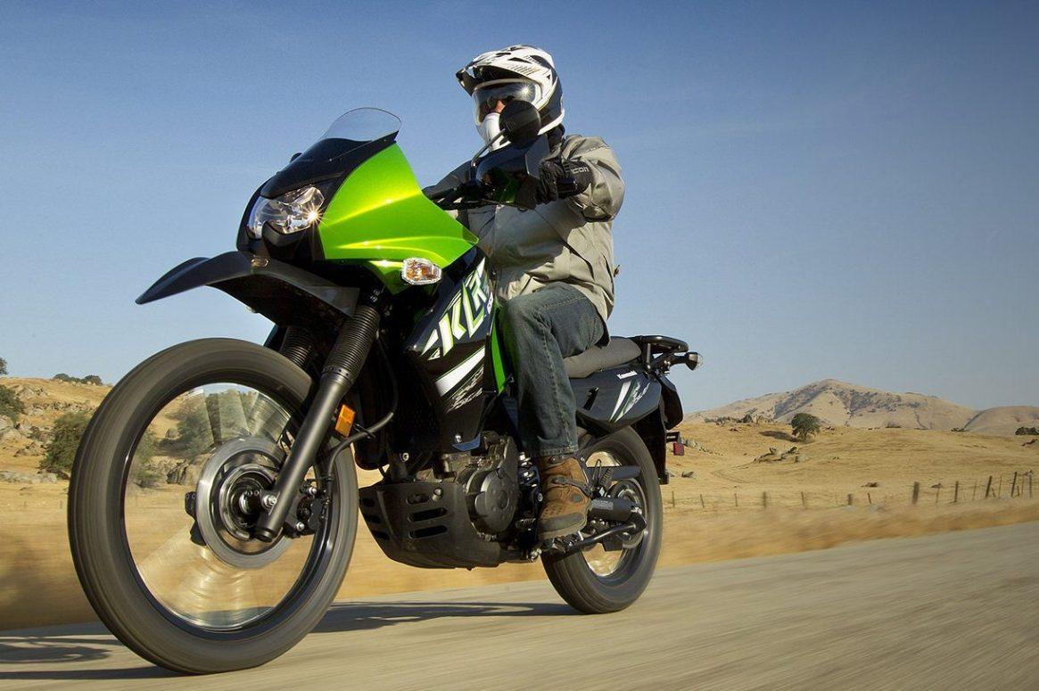 The history of the Kawasaki KLR 650 dual sport motorcycle