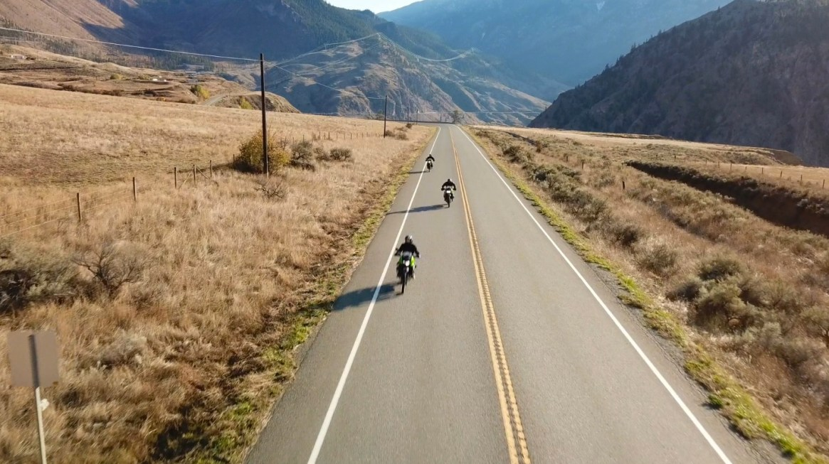 Drone road