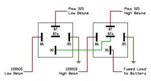 Wiring A Relay 87a  Wiring Diagram