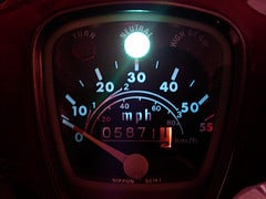 My Supercub Speedometer