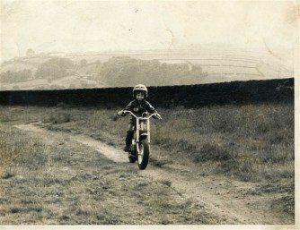 My first motorcycle - Garelli 50cc bought for 10 pence