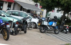 No one is paying for motorcycle parking in La Rochelle