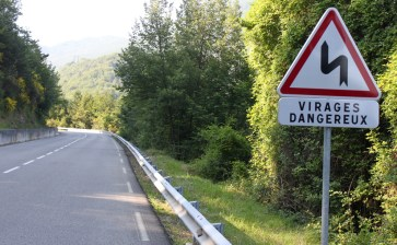 If you see signs like this - you are on the right roads for motorcycling