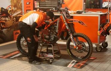 Ryan Dungey's new KTM