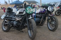 BA Moto's gorgeous Triumph machines hit the dirt in style