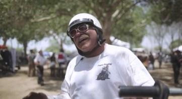 This man raced a swap meet Chopper!!!