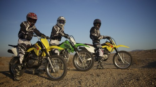 Girls Ride – Day 2 – DR-Z125 & KLX140