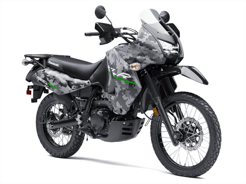 The Rugged And Tough 2016 Kawasaki KLRTM650 Motorcycle Is Built For Adventure It Will Take You Where Want To Go In Comfort Year Round