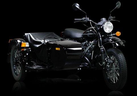 Ural Dark Force Sidecar Motorcycle