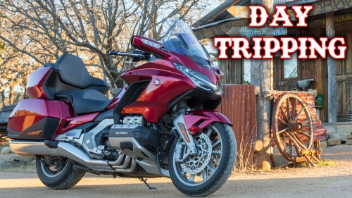 Honda Gold Wing / Texas / Day Tripping
