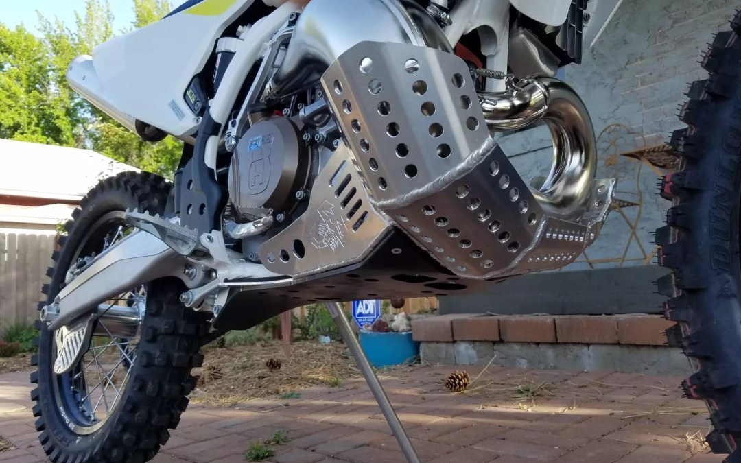 2017 Husky TX300 Skid plate and Rad guards