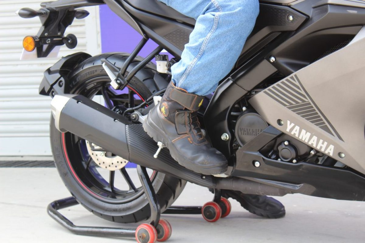Orazo motorcycling boots