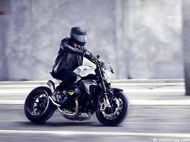 Nouveaut Moto BMW Prsente Son Concept Roadster
