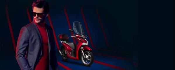 Honda-sh-scooter