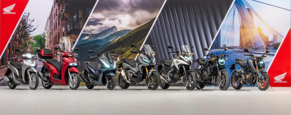 Novita 2021 - honda moto scooter