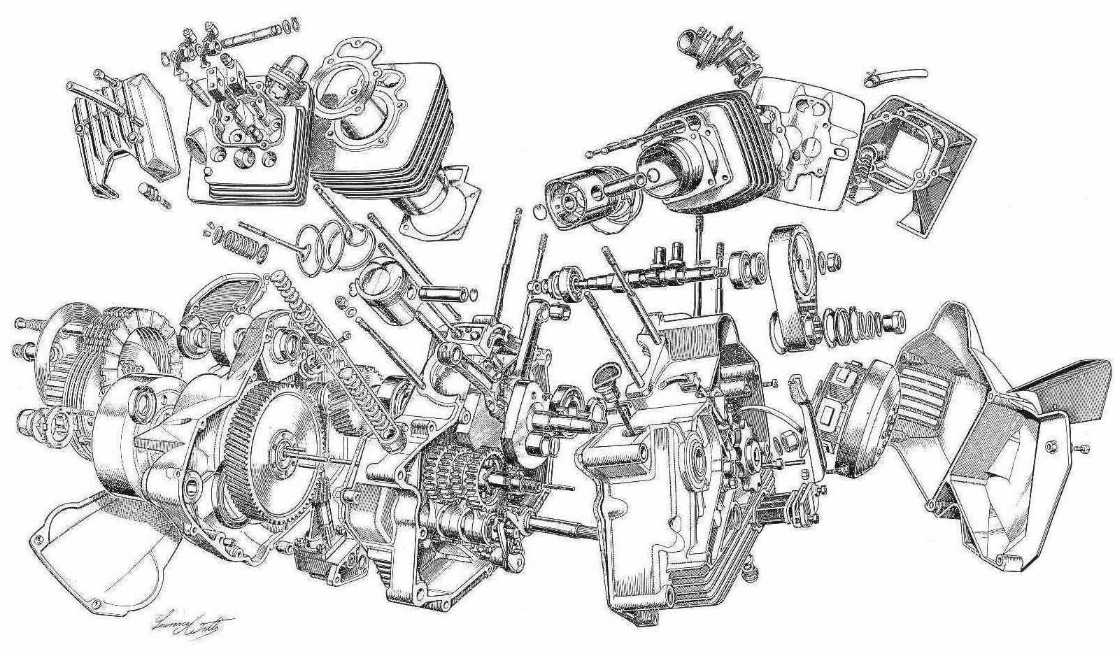 Harley V Twin Diagram Pictures To Pin