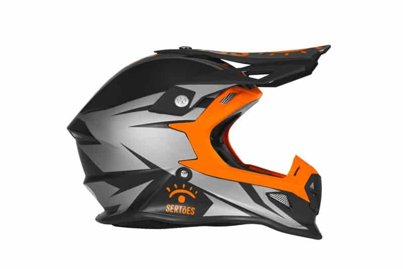 Pro Tork Fast Sertões: capacete modelo Fast