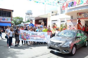 "The New Nissan Almera Leads ""Visit the Philippines, Drive to Discover with Nissan"" to the Higantes Festival"