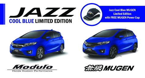 Jazz Cool Blue Limited Edition Support Photo